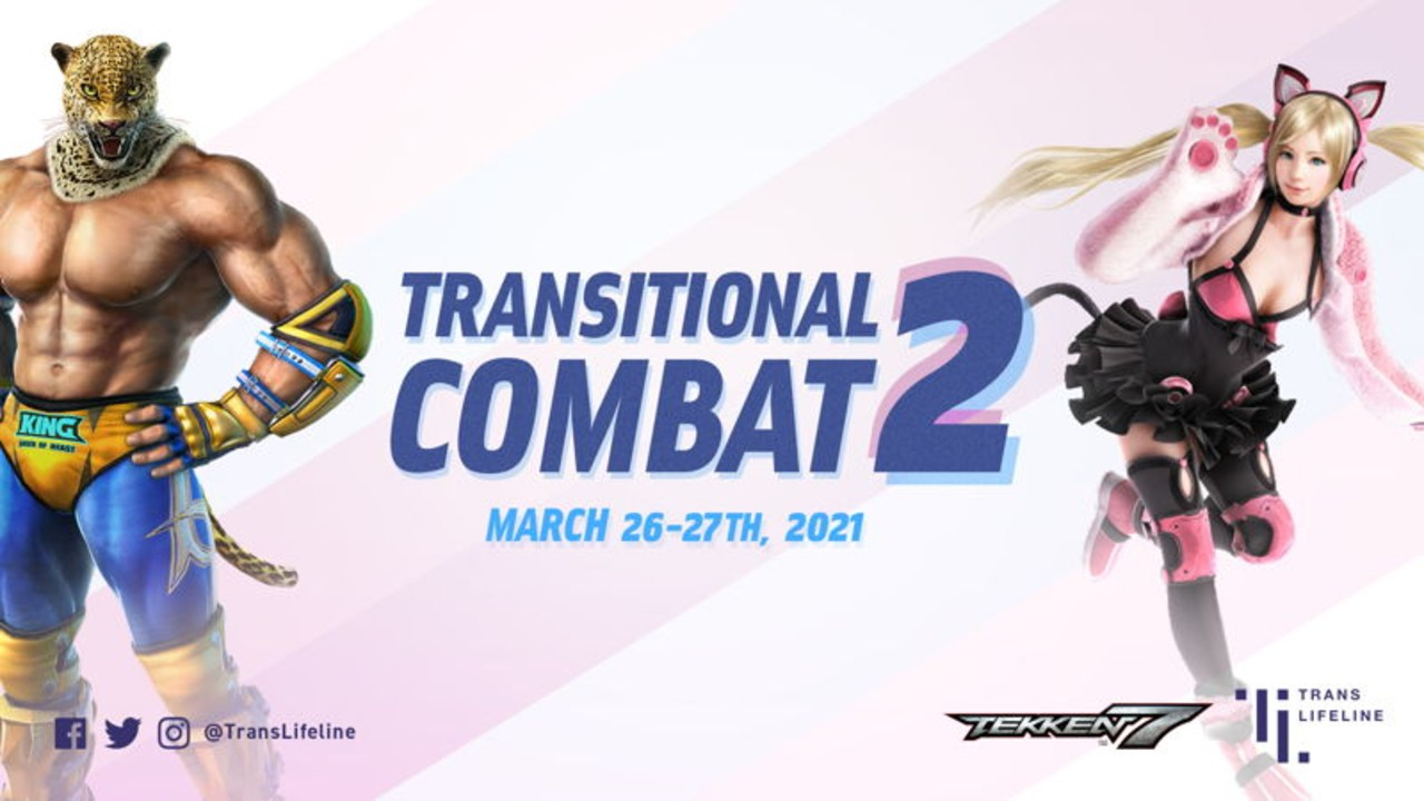 the transitional combat 2 banner, featuring king and lucky chloe
